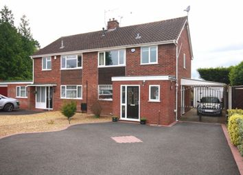 Thumbnail 3 bed semi-detached house for sale in Cherrington Road, Nantwich