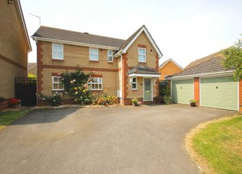 Thumbnail 4 bed detached house for sale in Wetenhall Road, Stanwick, Wellingborough