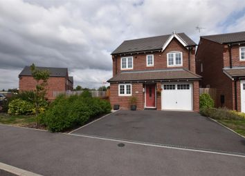 Thumbnail 3 bed detached house for sale in Hutton Close, Quorn, Loughborough