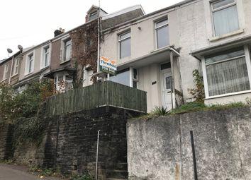Thumbnail 3 bed terraced house to rent in Bryn Syfi Terrace, Mount Pleasant, Swansea