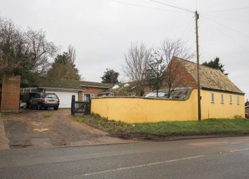 Thumbnail 3 bed detached bungalow for sale in The Pond, Station Road, Haddenham, Ely