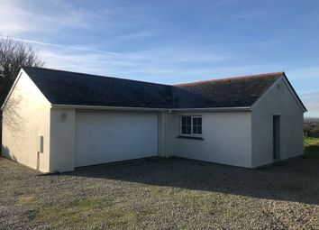 Thumbnail 2 bedroom detached bungalow to rent in Praze, Camborne