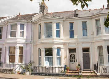 Thumbnail 4 bed terraced house for sale in Radford Road, West Hoe, Plymouth