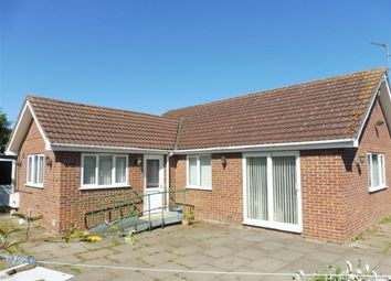 Thumbnail 3 bed detached bungalow for sale in Crescent Road, Whittlesey, Peterborough