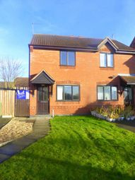 Thumbnail 2 bed semi-detached house to rent in Sixth Avenue, Edwinstowe, Mansfield