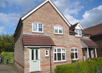 Thumbnail 3 bed semi-detached house for sale in Webb Drive, Rackheath, Norwich