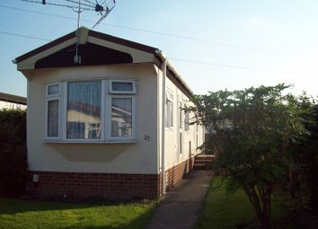 Thumbnail 2 bed mobile/park home for sale in Guilford Road, Normandy Guildford Surrey