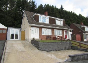 Thumbnail 3 bed semi-detached house for sale in Hafod Cwnin, Carmarthen, Carmarthenshire.