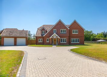 Thumbnail 5 bed detached house for sale in Clappers Lane, Chobham, Surrey