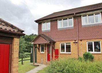Thumbnail 3 bed semi-detached house for sale in Hubbard Close, Twyford, Reading