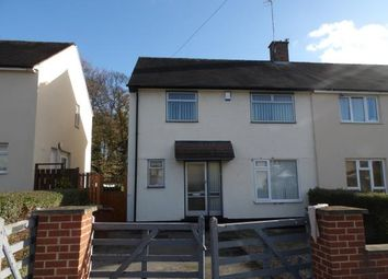Thumbnail 3 bed semi-detached house for sale in Highwray Grove, Clifton, Nottingham, Nottinghamshire