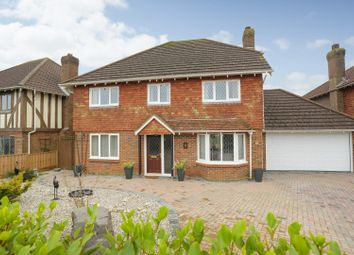 Thumbnail 4 bed detached house for sale in Harvest Way, Hawkinge, Folkestone