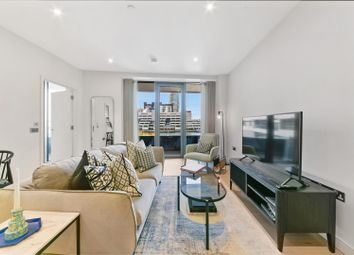 Thumbnail 1 bed flat to rent in Water Street, London