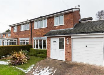 Thumbnail 4 bed semi-detached house for sale in Langdale Close, Macclesfield