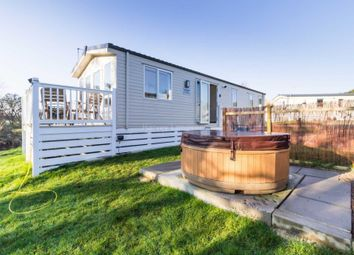 Thumbnail 3 bed mobile/park home for sale in Felton, Morpeth, Northumberland