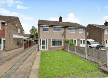 Thumbnail 3 bed semi-detached house for sale in Newcombe Drive, Arnold, Nottingham