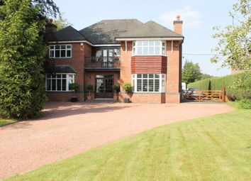 Thumbnail 5 bed detached house for sale in Holmes Chapel Road, Somerford, Congleton
