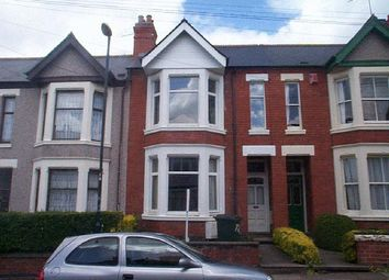 Thumbnail 5 bedroom shared accommodation to rent in Spencer Avenue, Earlsdon, Coventry, West Midlands