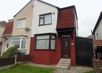 Thumbnail 2 bedroom semi-detached house for sale in Wood Lane, Huyton, Liverpool