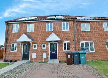 Thumbnail 2 bed terraced house for sale in Burnt Fen Way, Hoveton, Wroxham, Norfolk