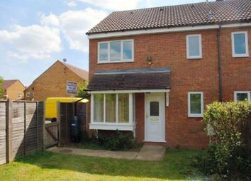 Thumbnail 1 bed terraced house to rent in Chawston Close, Eaton Socon, St. Neots
