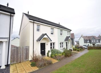 Thumbnail 3 bed semi-detached house for sale in Rowan Road, Wadebridge