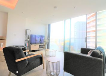 Thumbnail 1 bed flat to rent in Carrara Tower, 1 Bollinder Place, London