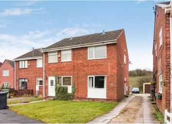 Thumbnail 2 bed semi-detached house for sale in Sough Road, Alfreton