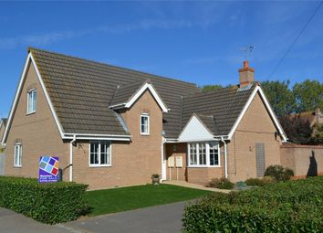 Thumbnail 4 bed detached house for sale in Crowland Road, Eye Green, Eye, Cambridgeshire