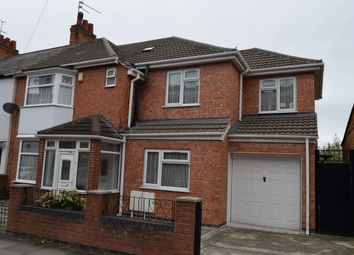 Thumbnail 5 bed semi-detached house for sale in Nottingham Road, North Evington, Leicester