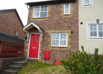 Thumbnail End terrace house to rent in The Ridings, Aberdare