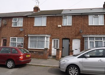 Thumbnail 2 bed terraced house for sale in Prestwold Road, Leicester