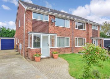Thumbnail 3 bed semi-detached house for sale in Lodgebury Close, Emsworth, Hampshire