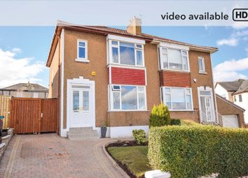 Thumbnail 3 bed semi-detached house for sale in Cleuch Gardens, Clarkston, Glasgow