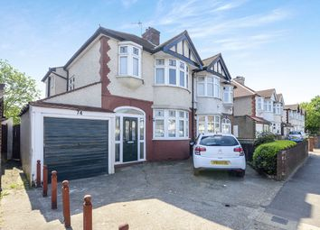 Thumbnail 3 bed semi-detached house for sale in Tolworth Rise South, Surbiton