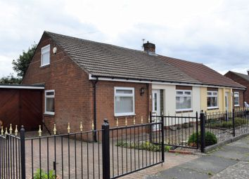 Thumbnail 2 bed semi-detached bungalow for sale in Knox Road, Bedlington