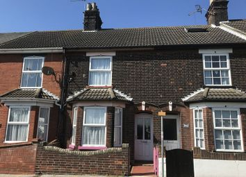 Thumbnail 2 bedroom terraced house for sale in Denmark Road, Lowestoft