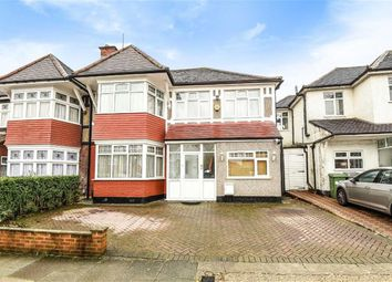 Thumbnail 5 bed semi-detached house for sale in Sedgecombe Avenue, Harrow, Middlesex