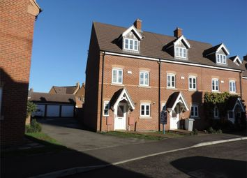 Thumbnail 4 bed end terrace house to rent in Laughton Drive, Stamford, Lincolnshire