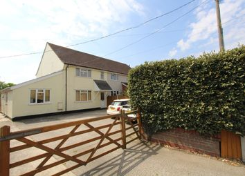 3 bed semi-detached house for sale in Songers Cottage, Dedham Road, Boxted CO4