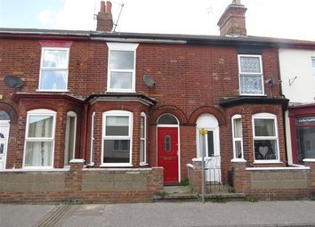 Thumbnail 3 bed terraced house to rent in Norwich Road, Lowestoft