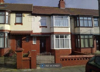 Thumbnail 3 bedroom terraced house to rent in Norcliffe Road, Blackpool