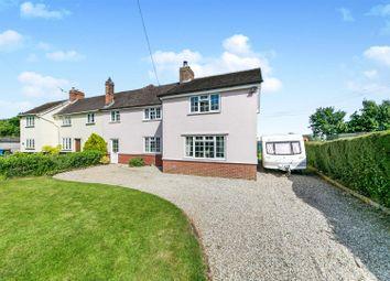 Thumbnail 4 bed cottage for sale in Bottle Bridge Road, Little Wenham, Colchester