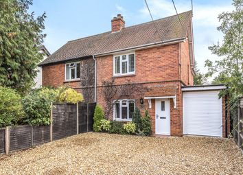 Thumbnail 3 bed semi-detached house for sale in Hyde End Road, Spencers Wood, Reading, Berkshire
