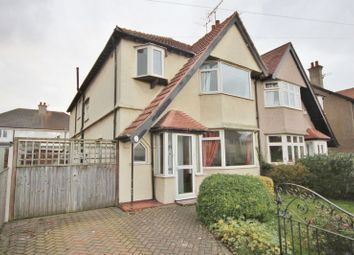 Thumbnail 4 bed semi-detached house for sale in Saxon Road, Hoylake, Wirral