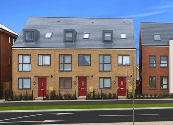 """Thumbnail 4 bed terraced house for sale in """"Rochester"""" at Fen Street, Brooklands, Milton Keynes"""