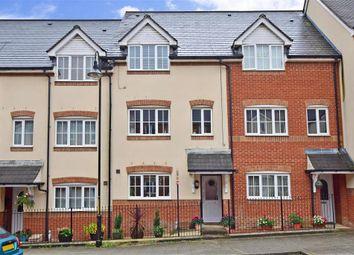 Thumbnail 3 bed town house for sale in Sir John Fogge Avenue, Ashford, Kent