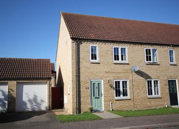Thumbnail 3 bed end terrace house for sale in Columbine Road, Ely