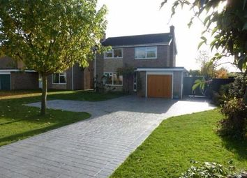 Thumbnail 4 bed detached house to rent in Elliott Road, Elliott Road, March, Cambridgeshire