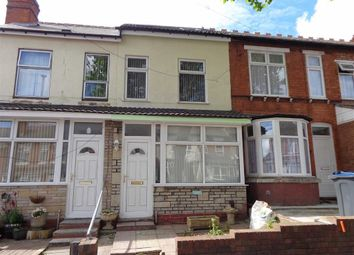 Thumbnail 5 bedroom terraced house for sale in St Benedicts Road, Small Heath, Birmingham